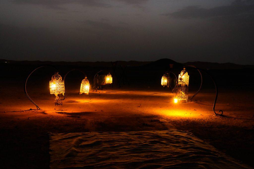 Nomaden Zelt in Marokko